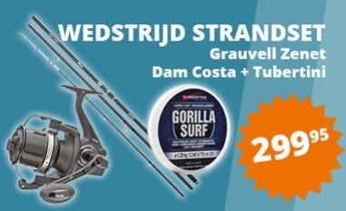Wedstrijd Strandset Grauvell- Dam zeer voordelig!