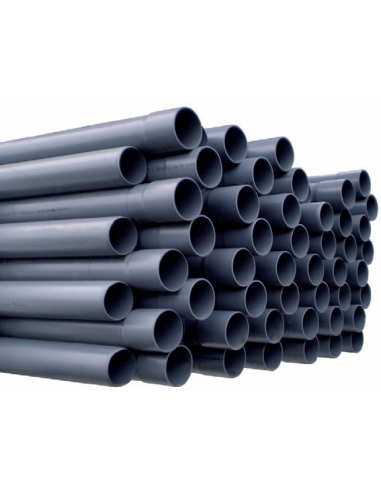 PVC buis grijs 100 cm - 110mm