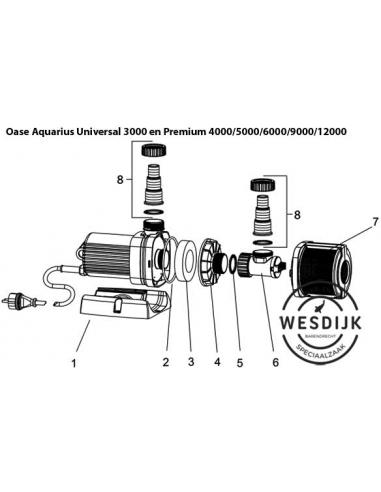 Behuizing AquaMax & Aquarius universal