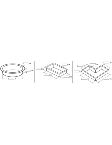 Wespro 3D-vijverfolie 200x200x150cm