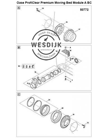 Uitloop 150/1 ProfiClear M 2 - M 5