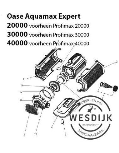 Frontplaat AquaMax Expert 20000-30000