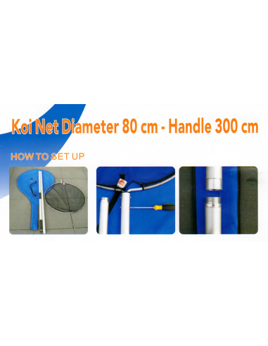 Koinet Ø 80 cm + steel 300 cm