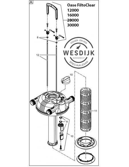 Reinigingsstang FiltoClear 11000-16000