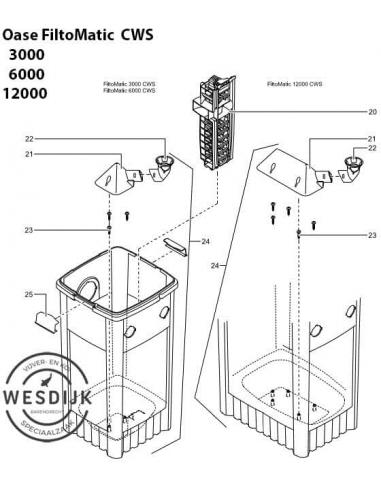 Reservoir FiltoMatic 6000