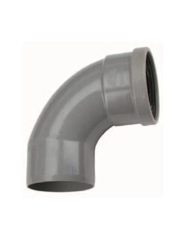 Manchet bocht/spie 90º - 110 mm