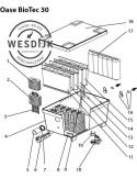 Acc. Kit Bodenuitloopset BioTec 30
