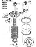 Spanring drukfilter Filtoclear