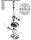 Verv. rotor kpl. ASE 1000 gemagnetiseerd