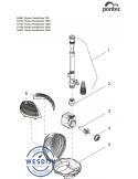 Rotor ASE 750 gemagnetiseerd