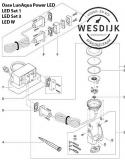 Lampvoethouder LunAqua Power LED W
