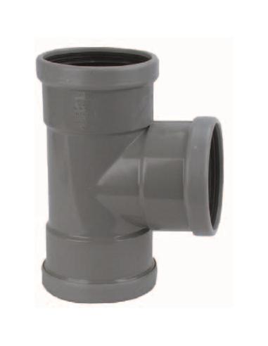 Manchet t-stuk 90º - 125 mm