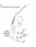 Spoelpomp 6 bar - 2,7 m kabel