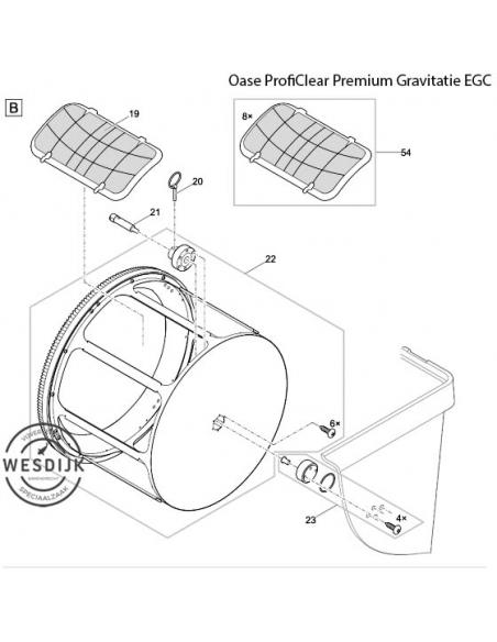 Zeefset 60 µm ProfiClear Premium
