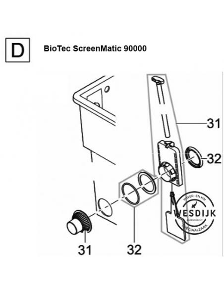 Afvoerset BioTec 40 en 60000 en 12 - 18