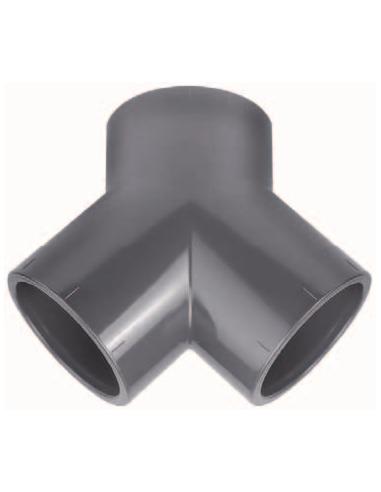 PVC Y-Stuk 63 mm