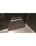 HDPE bodem/zijdrain met kap 110mm