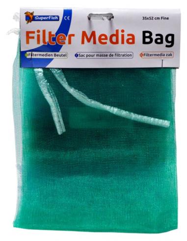 Filtermedia zak 35x52 cm groen/fijn