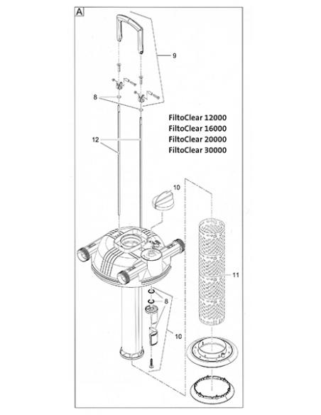 Reinigingsstang FiltoClear 15000-30000