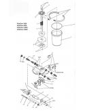 Set bedienelementen FiltoClear 3000 - 15000