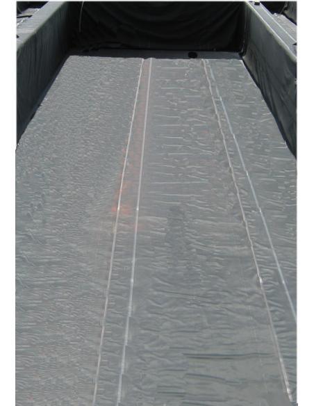 Wespro 3D-vijverfolie 400x250x200cm