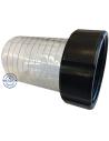 Slangtule bi 2'' - 50mm / transparant
