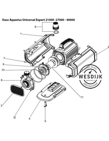 Centrale ring 135 Aquarius / Aquamax
