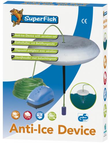 Superfish ijsvrijhouder & beluchtingset