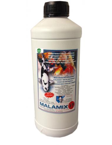 Malamix17 1 ltr. Conditie preparaat voor Koi's (goed voor 10 cub)