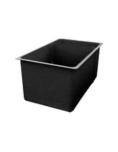 Poly vijverbak 113x113x50cm (500 ltr)