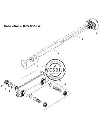 Uv PL- Vervanglamp 18 watt (22.5cm)