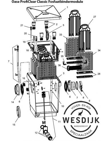 PhosLess klem ProfiClear Fosfaatbindermodule