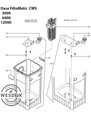 Lamelle Cartridge Filtomatic 6000