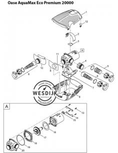 Ovale schroef V2A DIN 7985 5 x 22